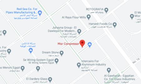 Misr Compressor Location
